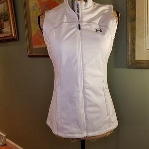 Under Armour fleece lined zip vest